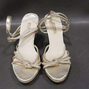 NEW Women's MIchael Kors Sz 8 Wedge Heels